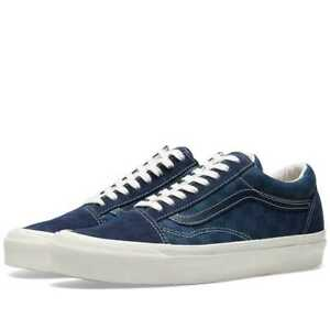 2b973759e3 VANS VAULT OG OLD SKOOL LX CHECKERBOARD   MAJOLICA BLUE SIZE US 10 ...