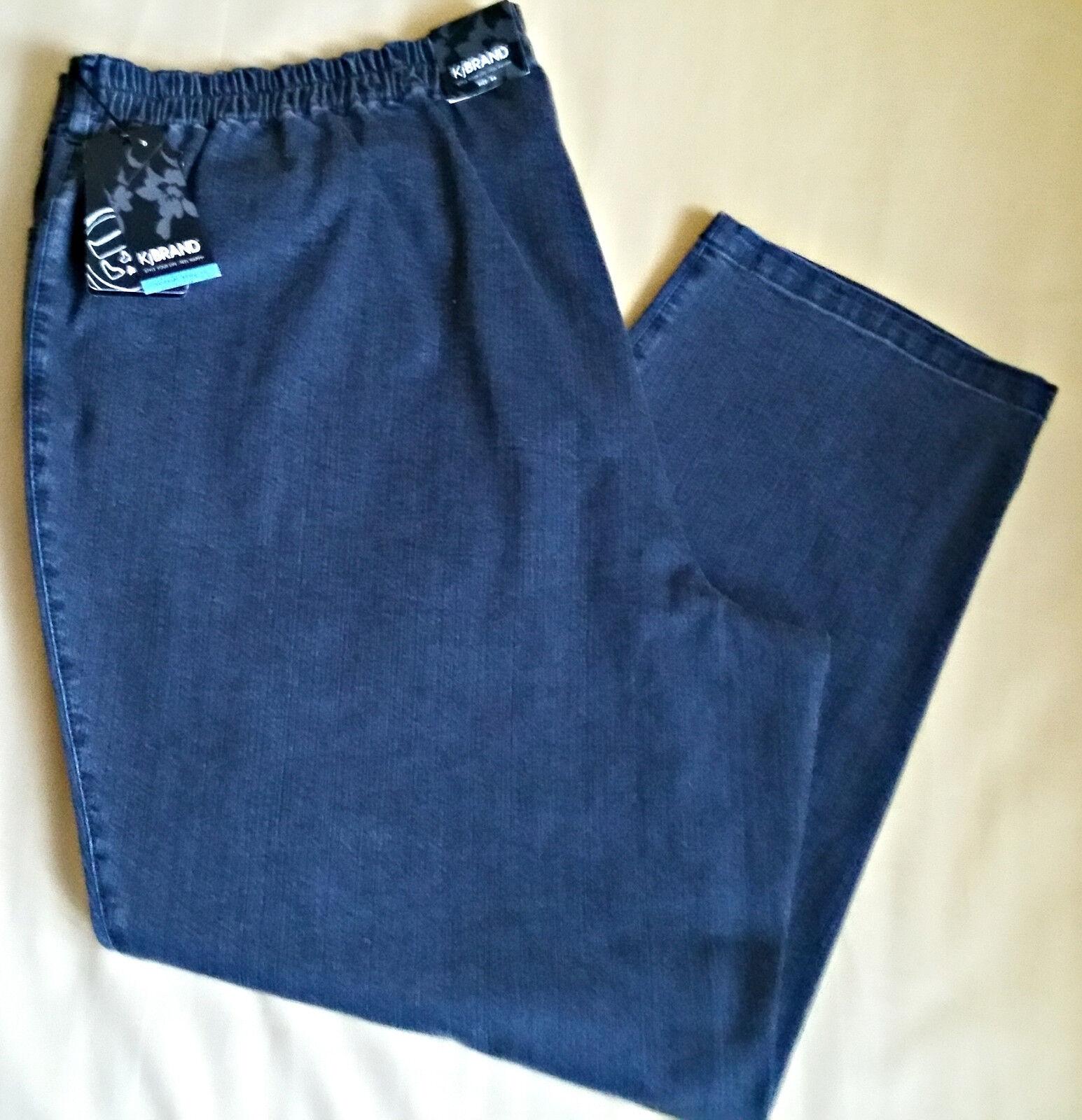 Stretchhose Jeans Stoffhose Modell 2100  KjBrand Gr. 56 Grau