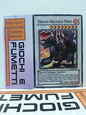 DRAGO BRUTALE NERO in italiano YUGIOH RARA SUPER SYNCHRO