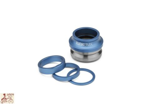 KINK BIKES V2 INTEGRATED 1-1/8 MATTE SONIC BLUE BICYCLE HEADSET