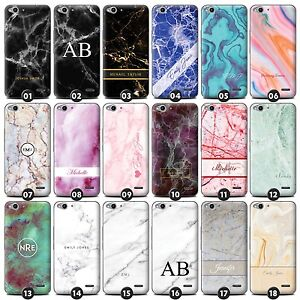 best service 74b54 80eb9 Details about Personalised Marble Phone Case/Cover for Vodafone Smartphone  Initial/Name/Custom