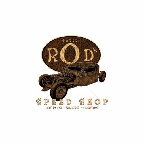 Kapuzensweatshirt schwarz V8 Oldschool Hot Rod US Car `50 Stylemotiv Ratty Rods