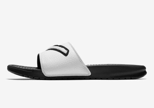"Men/'s Brand New Nike /""Benassi/"" JDI Chenille Athletic Fashion Slides AO2805 001"