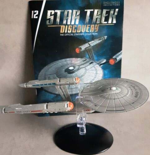 Star Trek Discovery Starships Collection Eaglemoss #12 U.S.S Enterprise ncc-1701