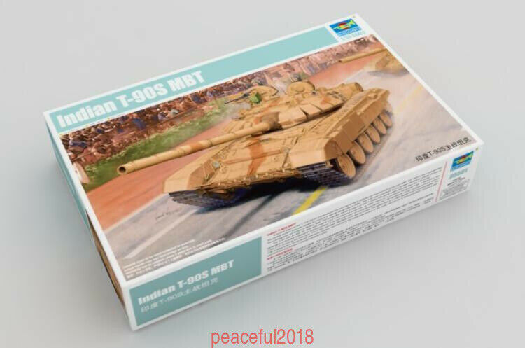 Trumpeter 05561 1 35 Indian T-90S MBT assembly model