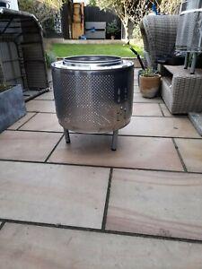Fire Pit/Brazier - Upcycled Washing Machine Drum