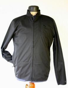 PUMA-Lux-Herren-Golf-Windjacke-Wind-Jacket-565894-Wind-Cell-schwarz-Gr-S
