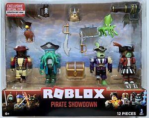 Roblox Mix /& Match Pirate Showdown Figure 4-Pack Set