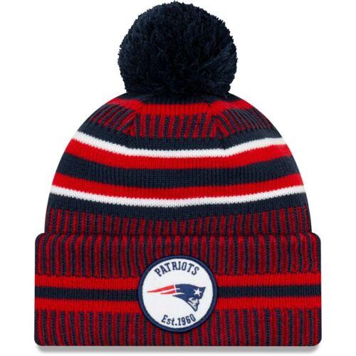New England Patriots Beanie NFL Football New Era Sideline  Wintermütze