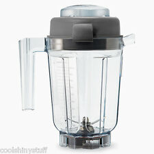 Vitamix 32oz Wet Blade Container w/Lid VM 15842 NEW BPA-Free pitcher jar jug