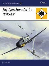 WW2 German Luftwaffe Jagdgeschwader 53 'Pik-As' 25 Osprey Reference Book
