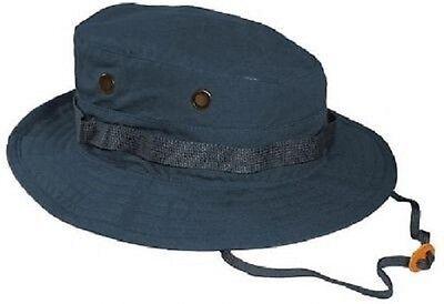 Liberal Us Navy Marine Usn Army Military Boonie Hut Blue M / Medium