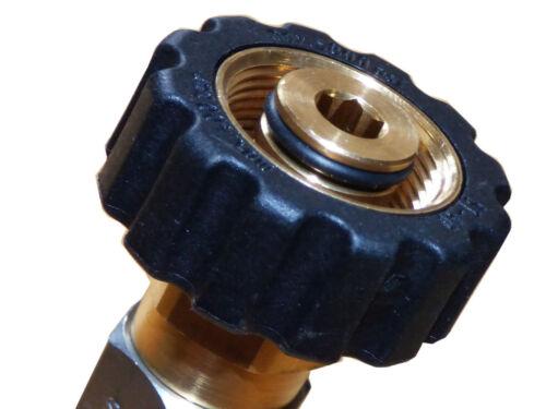 Adaptador para acoplamiento rápido kw alta presión pistola WAP Nilfisk alto Poseidón m22 IG