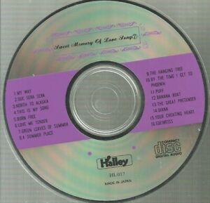 Sweet Memory Love Song V7 日本版 有人唱 My Way Born Free Love me Tender Puff Edeiweiss