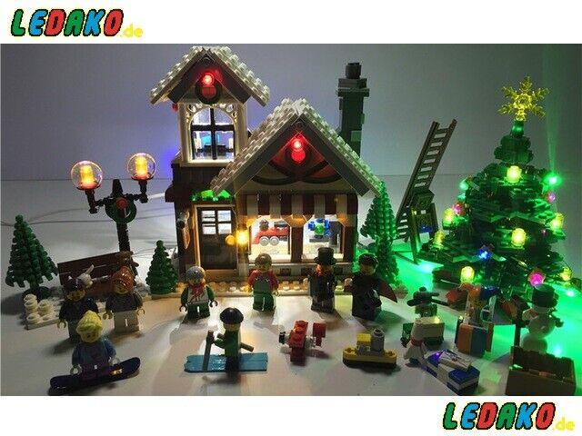 LED beleuchtungsset para lego ® para 10249 formano juguetes para Cochegar by ledako