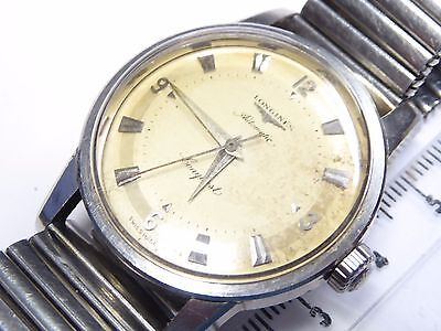 Longines Conquest automatic  stainless steel  vintage mens watch