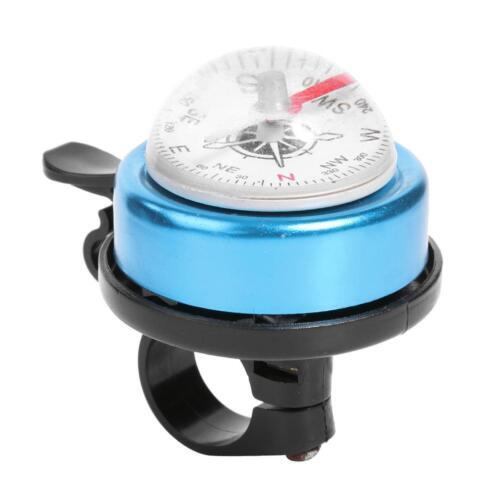 Mountain Bike Compass Bell Alarm Horn Outdoor Cycling Handlebar Bell Ring  Kits
