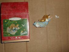 Hallmark Barbie Angel Ornament - Handcrafted 2001 Edition - 2 Pieces