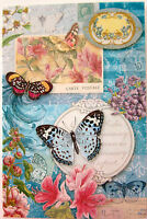 Punch Studio Butterfly's Garden Note Cards. Beautiful Package Of 12.
