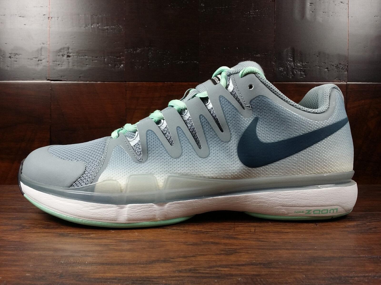 Nike Zoom Vapor [631458-043] 9.5 Tour (Magnet Grey/Mint) Federer Tennis [631458-043] Vapor Uomo 551a7b