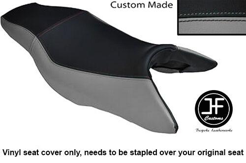 GREY /& BLACK VINYL CUSTOM FOR HONDA CB 900 F HORNET 02-09 DUAL SEAT COVER ONLY