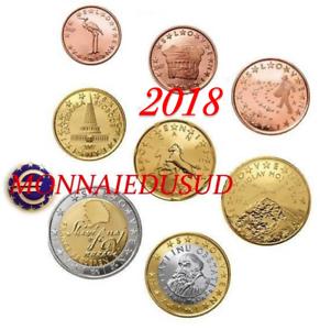 Série 1 Cent à 2 Euro BU Slovénie 2018 - Brillant Universel