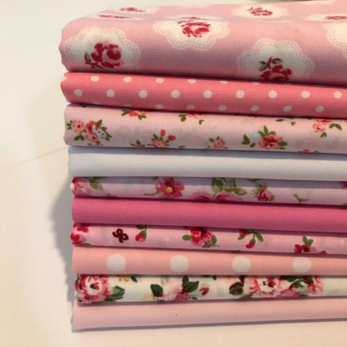 Jelly Rolls Fat Quarter 4, 5, 10 inch patchwork Squares Cotton Fabric Code JR15