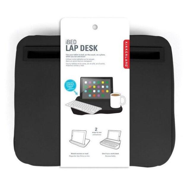 New Kikkerland iPad iBed Lap Desk in Black