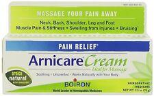 Boiron Arnicare Cream Homeopathic Medicine Pain Relief 2.5 Oz