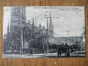 Metropolitan-Methodist-Church-amp-St-Michaels-Cathedral-Toronto-Ont-Post-Card