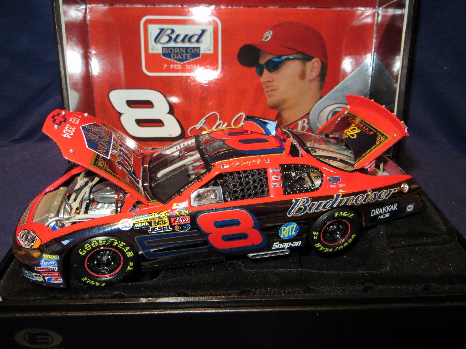 Dale Earnhardt Earnhardt Earnhardt Jr Budweiser   Born On Date  408 2004 1 24 PLATINUM Elite 9d92b0