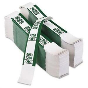 Currency Money Bands Self Sealing 200 Green Bundle Of 1000 Straps Us Cash Bills Ebay
