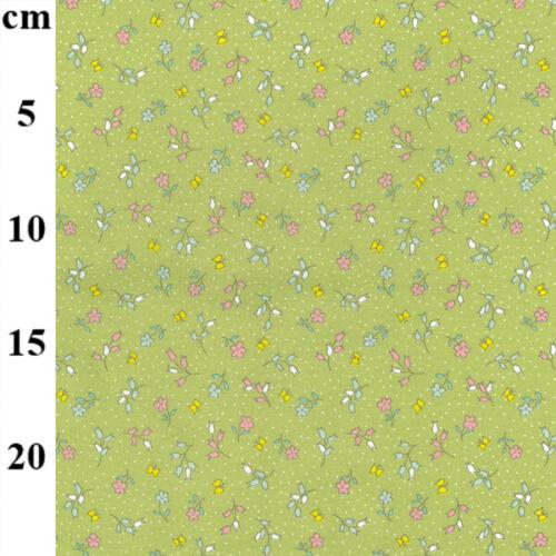 artesanía acolchado Hermoso Lila Ditsy Estampado Floral 100/% Tela De Algodón-ropa