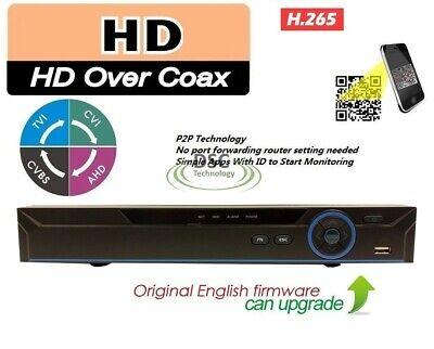 CCTV 8Channel HD 1080P Video Recorder Super NVR AHD TVI CVI DVR 5-in-1