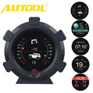 Autool-X95-Speedometer-GPS-Speed-Slope-Meter-Inclinometer-Car-HUD-Digital-Meter