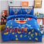 Hot//Cartoon Stitch Cotton Blend Duvet Comforter Cover 4pcs Bedding Set Xmas Gift