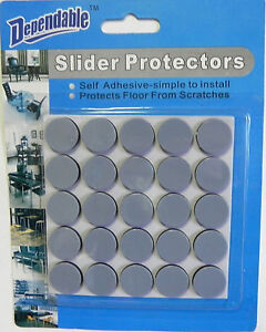 Delicieux Image Is Loading 25 Pack Slider Protectors Chair Bottom Self Adhesive