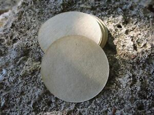 350 x Natural Paper Filters - Non Bleached - For Aeropress Coffee (qty's avail)