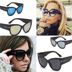 Cat Eye Sunglasses Ladies Women Retro Vintage Shades Oversized Designer Eyewear