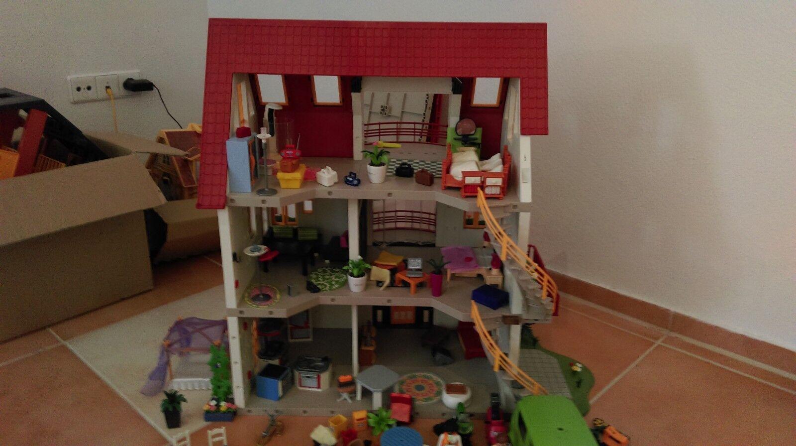 Playmobil Konvolut-Hochzeitslimousine  Wohnhaus Yacht Hotdog Asia Burg