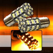 4x Amber 1156 Corner Turn Signal LED Light Bulbs 45 Smd 1L