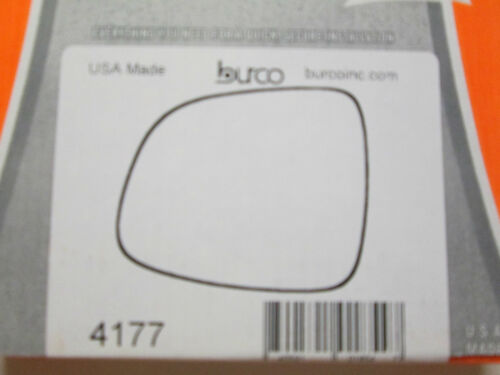 BURCO MIRROR GLASS # 4177 FITS 2007-2012 SUZUKI SX4 LEFT DRIVER SIDE