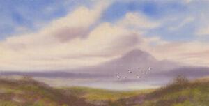 Fred-Stafford-fl-1890-1910-Late-19th-Century-Gouache-Highland-Landscape