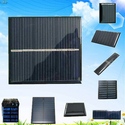2/3/3.5/4/5//5.5/6V Solar Panel Module Cell For Battery Charger Toys Light Torch