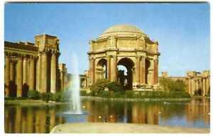 1950s San Francisco Palace Fine Arts Colonnades Lagoon Vintage