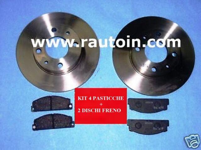 #A112 #Abarth SET #DISCHI E #PASTICCHE #FRENI  #Brakes #Discs Kit