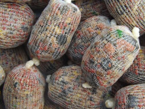 30 pre filled pre tied pva mesh bags with FREE hook pellets included.