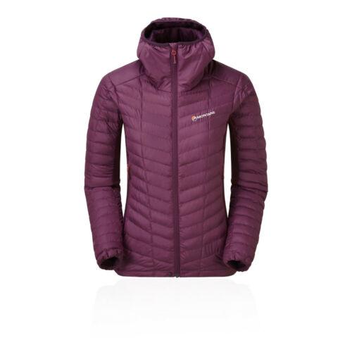Montane Womens Phoenix Stretch Jacket Top Purple Sports Outdoors Full Zip Hooded