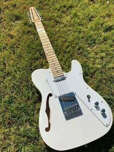 NEW-12-STRING-SEMI-HOLLOW-THINLINE-TELE-STYLE-ELECTRIC-GUITAR