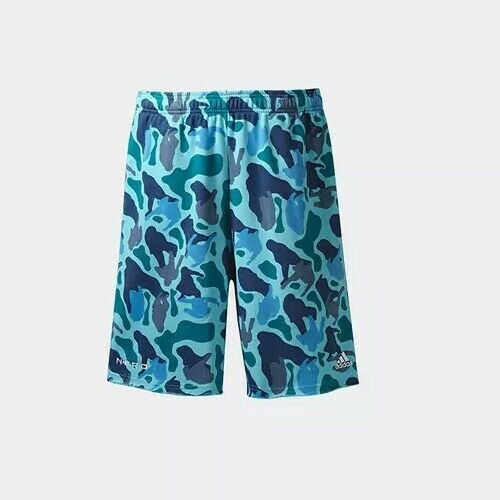 Essentials Nerd Pantaloncini da adidas Raw Camo Williams uomo Pharrell Blue qrwFtYwB